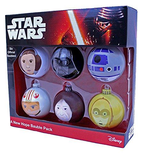 Star Wars 599386031 - Bolas de navidad a new hope (6 uds)