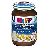 Hipp - Bio Gute Nacht Grießbrei pur - 190g