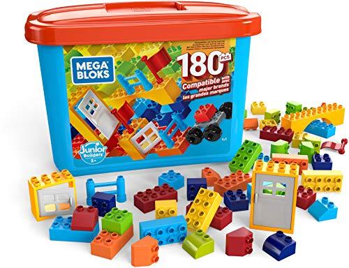 Mega Bloks Caja de 180 bloques de construcción