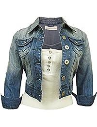 Women's Denim Blue Jacket 6 - 16
