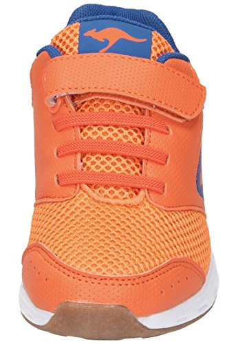 KangaROOS Rodo Ev, chaussons d'intérieur mixte enfant Orange