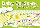 """Baby Cards """"Auf deinen Spuren': 82 Foto- Erinnerungskarten für das erste Jahr Ihres Babys, unisex"""