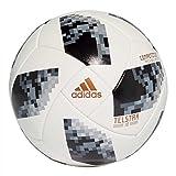 adidas Herren Telstar Competition Ball, White/Black/Silver Metallic, 5