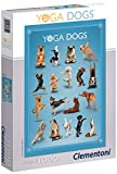 Clementoni 39312.1 - Poster Puzzle Yoga Dogs, 1000 Teile