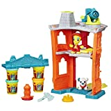 Hasbro-Play-Doh-B3415EU4-Town-Feuerwache-Knete