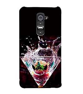 Cocktail Mocktail 3D Hard Polycarbonate Designer Back Case Cover for LG G2 :: LG G2 D800 D802 D801 D802TA D803 VS980 LS980
