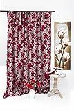 Mendola Home Textiles 10-248SEPHORA-07 Gardinenschal Sephora 140 x 245 cm, bordeaux