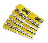 Bomien 100 Stück Professional Nail Art Tips Extension Forms Guide Stickers Acrylic UV Gel für die künstliche Fingernagel-Modellage