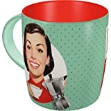 Nostalgic-Art 43031 Say IT 50's - Espresso Yourself | Retro Tasse mit Sprüchen | Kaffee-Becher | Geschenk-Tasse | Vintage