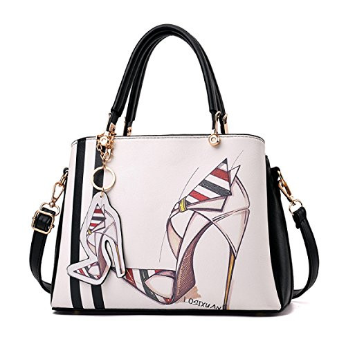 Mode Frau Tragbare Schulter Messenger Bag 4