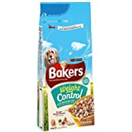 Bakers Complete Dog Food Weight Control Tender Meaty Chunks Tasty Chicken and Country Vegetables, 5kg