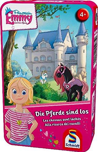 Schmidt Spiele Prinzessin Emmy, Die Pferde sind los