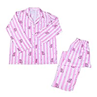 BTS Bangtan Boys Sleepsuit Jug Jimin V Harajuku Style BTS Pyjamas Sleepwear Nightdress Girls Long Sleeve Cotton Pjs Pajama Sleepwear Tops Shirts & Pants Nightwear