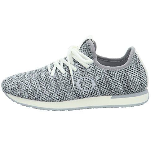 Marc OPolo Sneaker 80214473502601, Baskets Femme Gris (mélange)