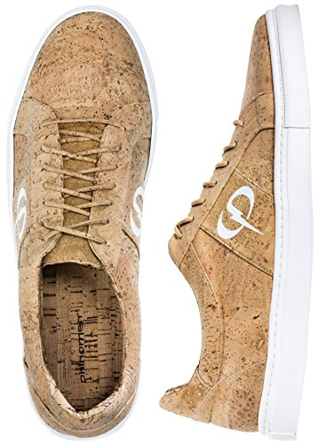 PHINOMEN PHILING CORK Sneaker - Nature White - Größe 42 (Kork-futter)