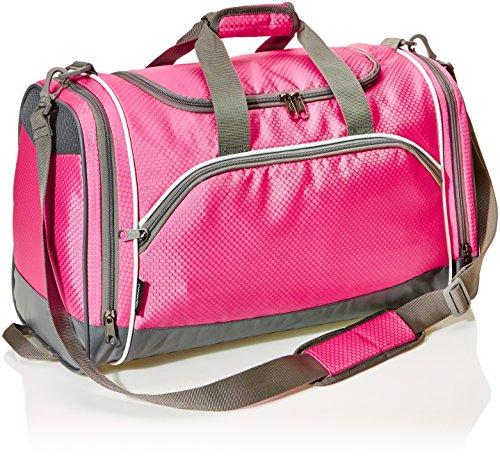 Amazonbasics - borsa per lo sport, media, rosa