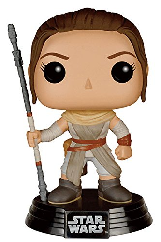 Funko FK6220 - Pop! Star Wars Episode VII The Force Awakens - Rey Vinyl Figur 10 cm