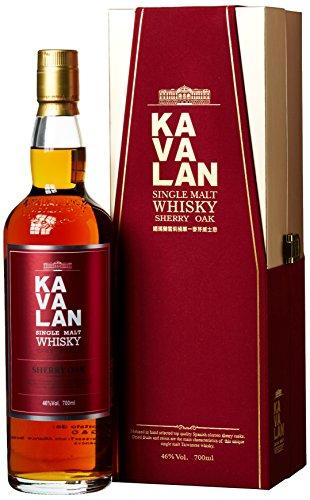 Kavalan Single Malt Whisky Sherry Oak (1 x 0.7 l)
