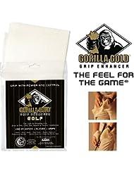 Gorilla toalla de Golf agarre Enhancer oro para mojado y húmedo clima