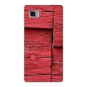 Stylish Red Kil Wood Back Case Cover for Vibe Z2 Pro K920