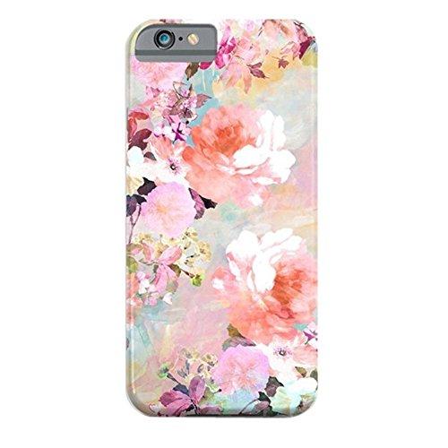 iPhone SE Coque, Cover ZQ-Link Ultra Slim peau souple Gel TPU Bumper Etui de protection pour Apple iPhone SE / 5S / 5 Love of a flower