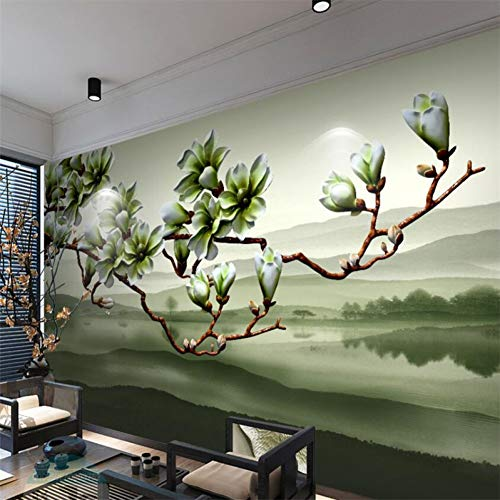TIANZly Magnolia fragancia tridimensional flor TV