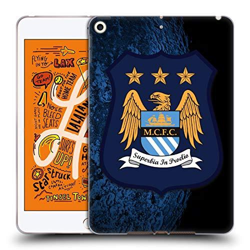 Head Case Designs Offizielle Manchester City Man City FC Away Kit Kit Crest Soft Gel Huelle kompatibel mit iPad Mini (2019) -
