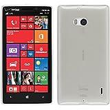 PhoneNatic Custodia Nokia Lumia 930 trasparente bianco Cover Lumia 930 in silicone + pellicola protettiva