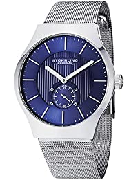 Stuhrling Original Classic Analog Blue Dial Men's Watch - 125G.33116