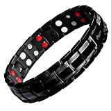Best Magnetic Therapy Bracelets - Ebuty Titanium Magnetic Therapy Bracelet Double Row 4 Review