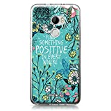 CASEiLike HTC X10 case, Blooming Flowers Turquoise 2249