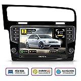 NEOTONE WRX-906G7 Autoradio für VW Golf 7 (ab 2012 -) Can-Bus | Android 9 Pie | Navigation mit Europakarten | DAB+ | 4GB RAM | 32GB ROM | Octa-Core | 4K Ultra HD | WLAN | Bluetooth | RDS