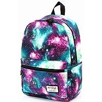 TRENDYMAX School Backpack Galaxy Bag, 42x30x16cm, Green