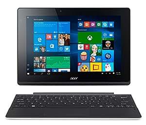 "Acer Aspire Switch 10E Convertibile 2-in-1, Display da 10,1"" Multi-Touch IPS, Processore Intel Atom x5-Z8300, RAM 2GB, HDD da 32GB eMMC, Scheda Grafica Intel HD Graphics, Bianco"