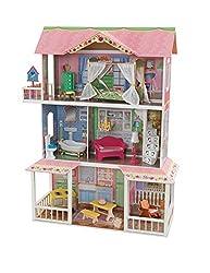 Kidkraft Sweet Savannah Dollhouse with Furniture, Multi Color
