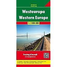 Europe de l'Ouest : 1/2 000 000