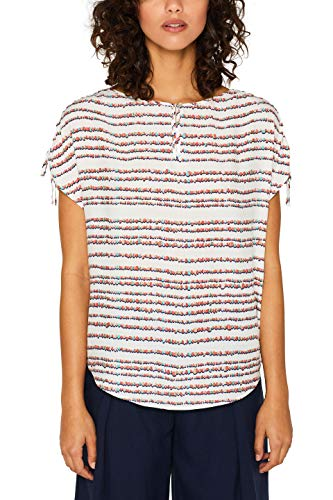 Esprit 059ee1f015 Blusa, Blanco (Off White 110), 36 (Talla del Fabricante: 34) para Mujer