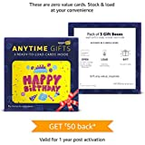 Anytime Gifts- Box of 3 (Zero value, Ready to load cards)