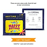#8: Amazon Pay Anytime Gifts- Happy birthday, Box of 3