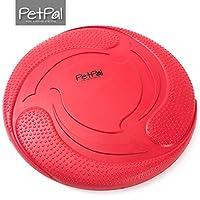 Chien de jouet de PetPäl en caoutchouc naturel - Caoutchouc Frisbee pour chien - en caoutchouc robuste Balle de jeu pour chien - Jouet à mâcher - pour grand & petit chien - Balle pour chien