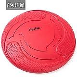 Hunde Frisbee von PetPäl aus Naturkautschuk Schwimmend | Gummispielzeug aus Naturgummi Ø 23cm | Wasserspielzeug & Schwimmspielzeug für Große & Kleine Hunde