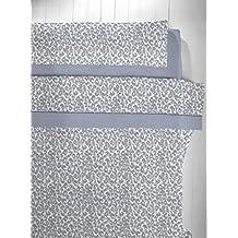 Abecé Casa Juego de cama Print Azul 150