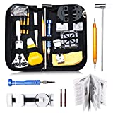 Baban Montre Kit, 147 Pcs Outil de Réparation Montre Kit D'horlogerie Kits de Réparation Watch Repair Tool pour Montre