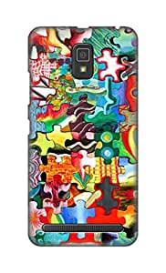 ZAPCASE Printed Back Cover for Lenovo A6600