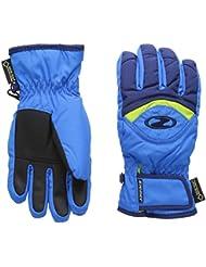 Ziener Largo–Guantes de esquí infantil, color Persian Blue/navy, tamaño FR : S (talla del fabricante: 5)