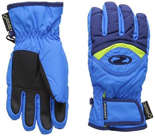 Ziener Kinder Largo GTX(R) Glove junior Handschuh, Persian Blue/Navy, 4 | 04052928554956