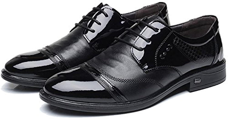 NBWE Herren Schuhe Kleider Business Schuhe Tägliche Hochzeitsschuhe German Fashion Belt