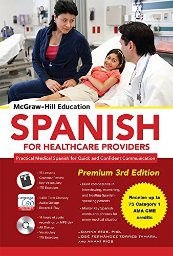 McGraw-Hill Education Spanish for Healthcare Providers, Premium [With MP3 CD] Rio Mp3