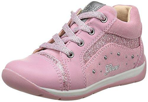 Geox Mädchen B Each Girl A Sneakers Pink (Dk PINKC8006)