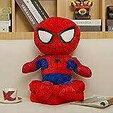 hzbftoy Cartoon-down-Baumwoll-Kissen-Decke, Plüsch-Spielzeug, Haus Schlafzimmer Zwei-in-eins Klimatisierte Decke Spider-Man